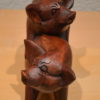 2 Holzschweine 02