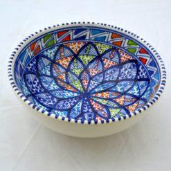 Porzellanschüssel klein blau 2
