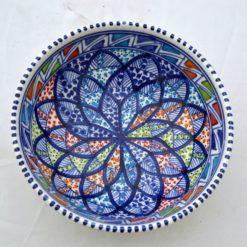 Porzellanschüssel klein blau 1