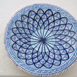 Porzellanschüssel gross blau 1