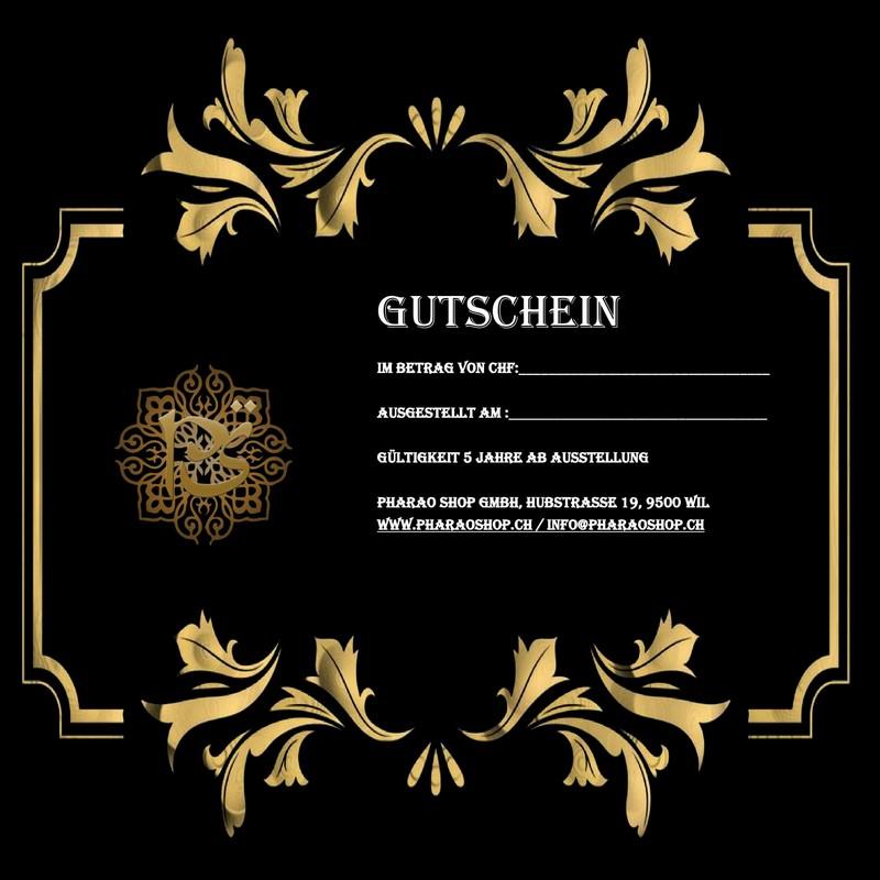 Gutschein nr 5 chf 200 orientalische gyptische for Lampen und leuchten gutschein