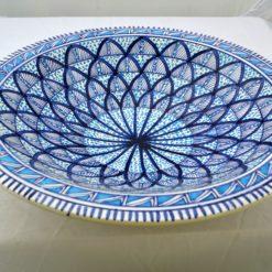 Porzellanschüssel gross blau 2