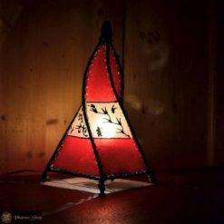 orientalische Lederlampe / ägyptische Lederlampe / orientalische Lampe / ägyptische Lampe