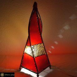 Lederlampe / ägyptische Lampe / marokkanische Lampe / orientalische Lampe